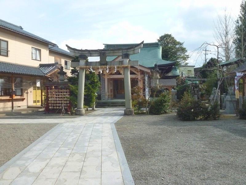 晴明神社(福井県福井市西木田)